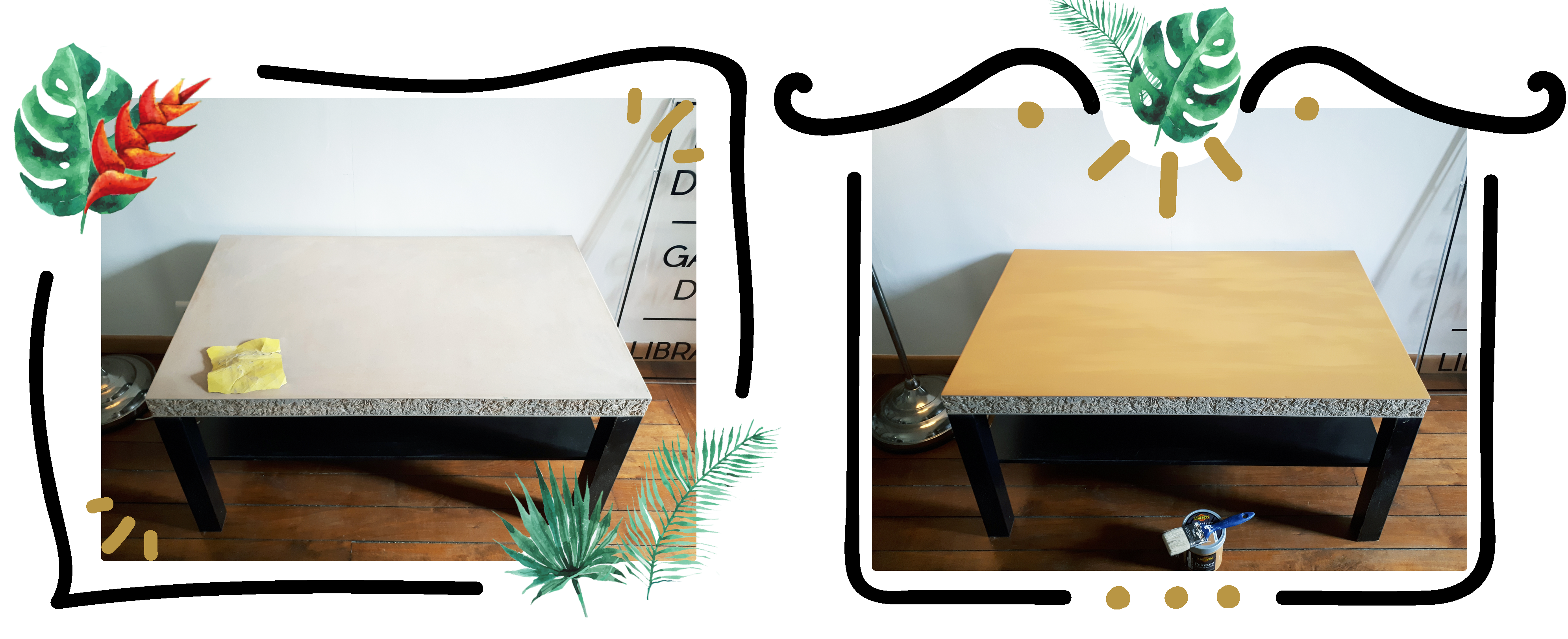 DIY-ikea-hack-table-etape-2