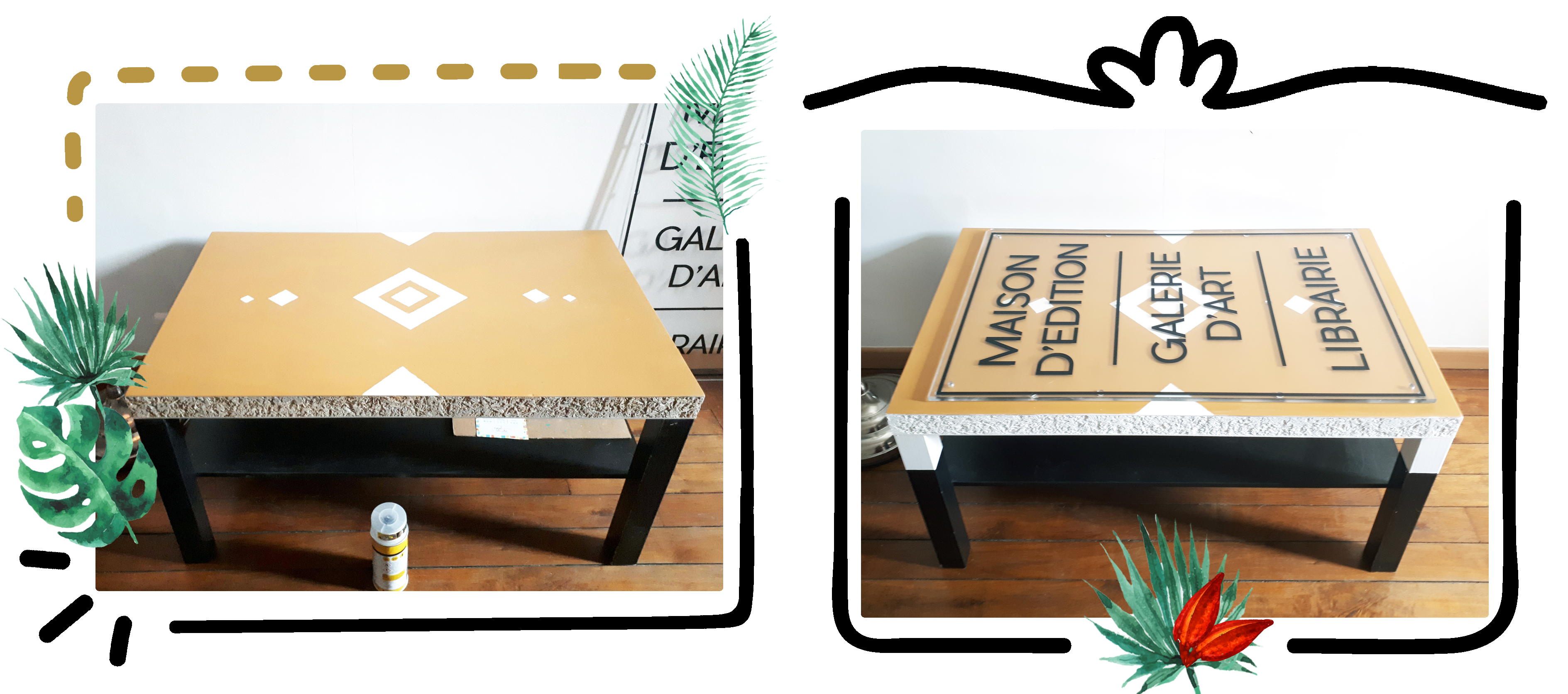 DIY-ikea-hack-table-etape-3