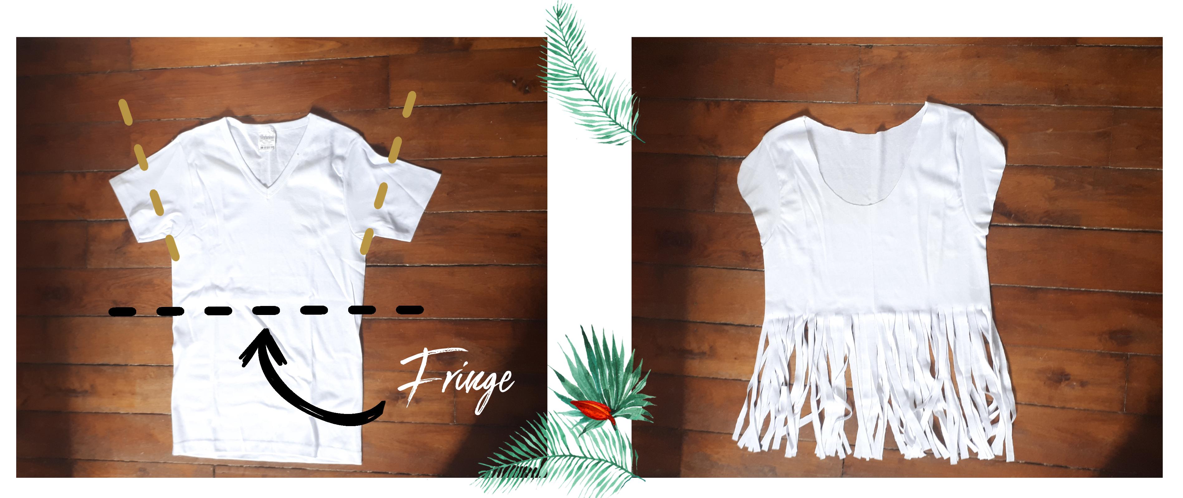 Avant-après-diy-tee-shirt-fringe