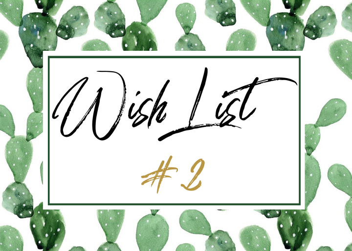 WishList #2 – Le cactus sous toutes ses formes!