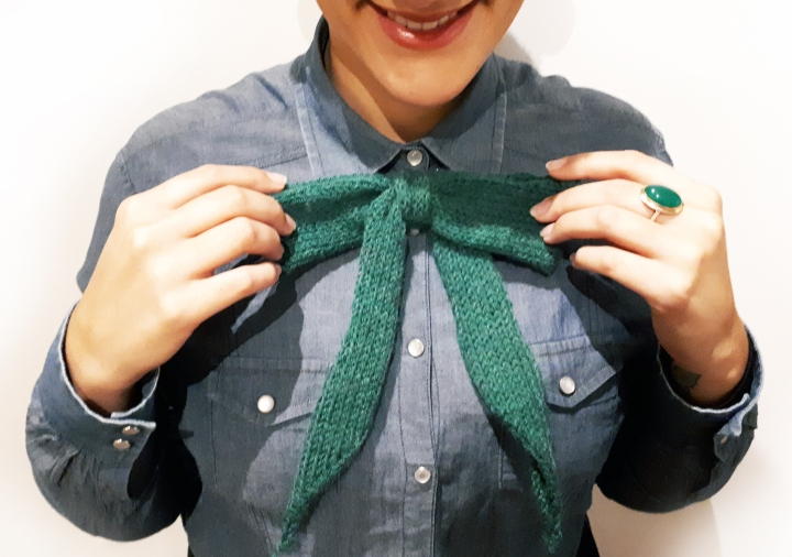 DIY-noeud-laine-tricot-vert-Cactus-and-Style