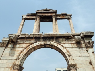 Porte d'Hadrien à Athènes