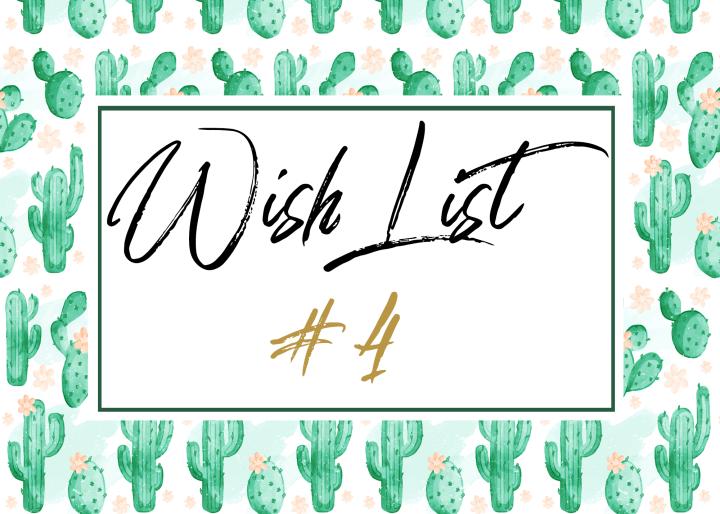 Wishlist #4 – Une déco pleine decactus